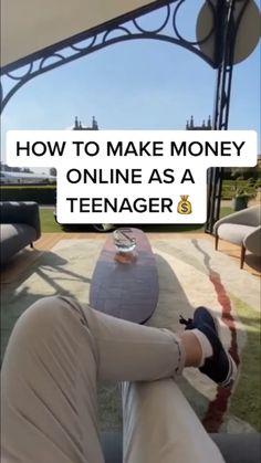 Life Hacks Websites, Useful Life Hacks, Ways To Get Money, Money Tips, Making Money Teens, Make Money Online, Online Jobs For Teens, Online Work, Teen Money