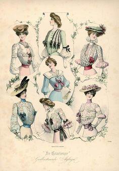 Жнские наряды, 1902 год