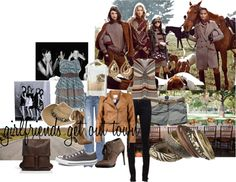 """""""girlfriends get out of town"""" by derulu on Polyvore"""