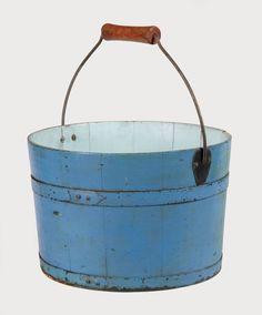 Rare antique Shaker pail