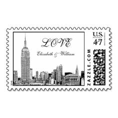 NYC Skyline 01 Etched LOVE