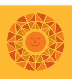 Sun design by Jeff Canham for Patagonia t-shirt