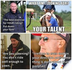George Morris, the legend and master of sass Equestrian Funny, Equestrian Quotes, Equestrian Problems, Horse Riding Quotes, Horse Quotes, Horse Girl, Horse Love, George Morris Quotes, Funny Horses