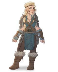 Armor design for my carta dwarf lady, Bryt. - Baewall ♥