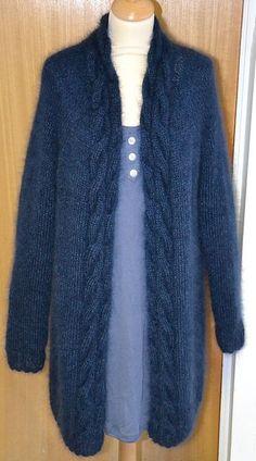 Ravelry: Luft jakke pattern by Marit Sættem pullover anleitung Luft Jakke Knit Cardigan Pattern, Crochet Baby Cardigan, Crochet Coat, Crochet Jacket, Knitted Coat, Knit Jacket, Knitting Kits, Baby Knitting, Knitting Patterns