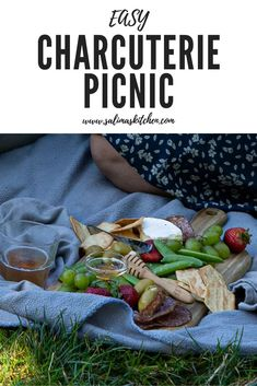 If you're looking for an inexpensive way to get out of the house this summer, this easy charcuterie picnic is my favorite way to make a fancy meal out of snacks you already have! #easycharcuterie #charcuteriepicnic #easypicnic #summerpicnic Charcuterie Picnic, Easy Lunches For Work, Picnic Snacks, Food Photography Styling, Food Styling, Date Night Recipes, Gluten Free Snacks, Summer Picnic, Savoury Dishes