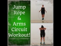 Jump Rope & Arms Workout!