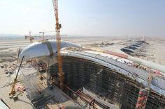 Ashgabad Airport/Turkmenistan- türkmenistan'ın yeni Havalimanı
