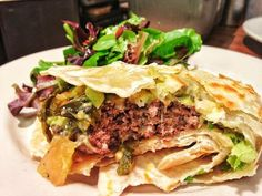 52 of America's Best Restaurant Burgers: The Green Chilie Burger from The Little Donkey in Homewood, AL.
