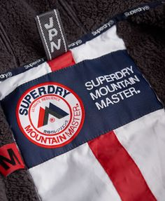 Superdry Mountain Hooded Master Jacket