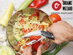 1,2,3 Salad time!  http://www.organicwizzard.com #organicwizzard #slice #chop #dice #peel #descale #carve #cut #knife #cookingmadeeasy #easycooking #healtyfood #foodlove #foodporn #foodaddict #foodie #gourmet #kitchengadget #veggie #vegeratian #vegan