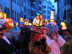 Fasnacht/Basel Basel, Places In Europe, My Heritage, Switzerland, Places Ive Been, Fair Grounds, Culture, Plaza, Lantern
