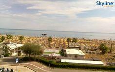 Live Cam #Rimini #Beach - Miramare. #Italy #Travel