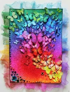 Colorful butterflies ♥