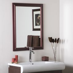 10 Incredible Cool Tips: Modern Wall Mirror Colour round wall mirror vanities.Wall Mirror With Storage Built Ins black wall mirror dressers.Wall Mirror Above Couch Decor. Framed Mirror Wall, Black Wall Mirror, Rustic Wall Mirrors, Modern Mirror Wall, Frames On Wall, Mirror Design Wall, Mirror Wall Living Room, Bathroom Mirror, Mirror Wall Bedroom