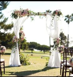 30 Eye-catching Wedding Altars for Wedding Ceremony Ideas wedding altar designs for country rustic outdoor wedding ceremony ideas Altar Design, Floral Arch, Chuppah, Ceremony Decorations, Ceremony Backdrop, Church Decorations, Backdrop Ideas, Backdrop Decor, Summer Wedding Decorations
