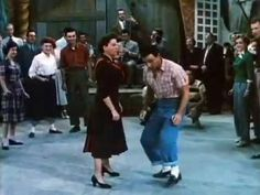 Gene and Judy - Summer Stock, 1950. Lindy hop, jitterbug, and tap. And lots of great outfits throughout the film
