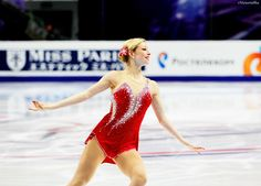Gracie Gold.I love watching ice skating.Please check out my website thanks. www.photopix.co.nz