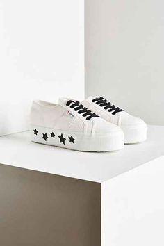 139c4f66e38 Superga 2790 Star Platform Sneaker Superga Outfit