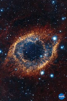 ESO's Visible and Infrared Survey Telescope for Astronomy (VISTA) has captured this unusual view of the Helix Nebula (NGC in this space wallpaper. The Helix Nebula is a planetary nebula located 700 light-years away. Helix Nebula, Planetary Nebula, Orion Nebula, Andromeda Galaxy, Eagle Nebula, Planetary System, Cosmos, Hubble Space Telescope, Space And Astronomy