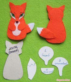 Новая лисичка-сестричка - Игрушки своими руками - Страна Мам