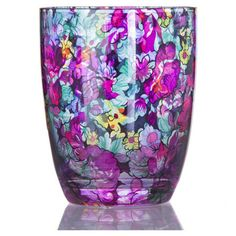 Bring a touch of whimsy to your next soiree with this elegant glass, showcasing a lovely floral motif.   Product: Double old fa...