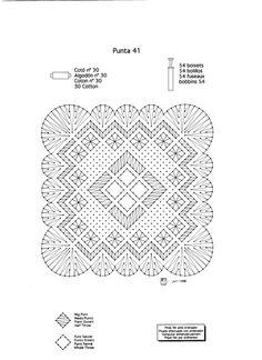 Pañuelos - MªCarmen(Blanca) - Álbumes web de Picasa Bobbin Lace Patterns, Lace Making, Tatting, Weaving, Cotton, Bobbin Lace, Tela, Farmhouse Rugs, Needlepoint