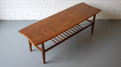 Walnut and Inlaid Sycamore Coffee Table Retro Furniture, Antique Furniture, Outdoor Furniture, Outdoor Decor, Mid Century Furniture, 1950s, Tables, Coffee, Antiques