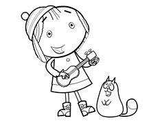 peg cat coloring pages - photo#21