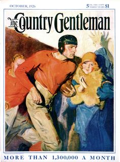 Country Gentleman Cover Illustration  Oct 1 1926