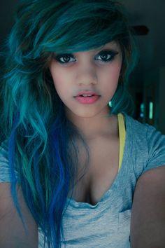 #hair, hair color, teal hair, teal, blue hair, blue, multi-colored hair To Get The Best Pinterest Followers http://www.inetjunkie.com/?r=247 http://www.followlike.net/?r=2223 http://shareyt.com/?r=2513 http://www.likerr.eu/eng/ref.php?x=543