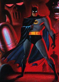 """""""Batman: Mask of the Phantasm"""" Batman Poster, Batman Artwork, Batman Wallpaper, Batman Mask, I Am Batman, Batman Stuff, Bruce Timm, Batman Universe, Comics Universe"""