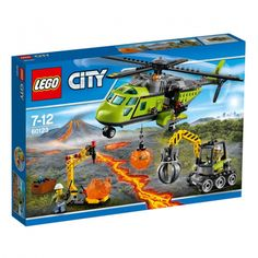 Brand New Custom Volcano Heavy-lift Helicopter Lego Compitible 60125 Manual