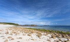 Great Bay beach on St Martins, one of the Isles of Scilly