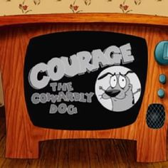 cartoon network, courage the cowardly dog.love this cartoon Best Cartoons Ever, 90s Cartoons, Cartoon Gifs, Cartoon Shows, 90s Childhood, Childhood Memories, Cartoon Network, Old Shows, 90s Nostalgia
