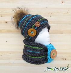 Patron au crochet / crochet pattern  Ensemble Igloo / Igloo kit