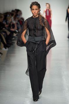 Antonio Berardi Fall 2017 Ready-to-Wear Fashion Show - Chanel De Leon Gomez