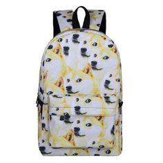 07db58c1fb Shiba Inu Dog Print Backpack (19