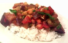 A Profound Hatred of Meat: Chickpea and Eggplant Stew
