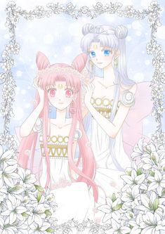 Sailor Moon Usagi, Sailor Moon Art, Sailor Moon Crystal, Sailor Venus, Anime Moon, Sailor Moon Background, Princesa Serenity, Flower Iphone Wallpaper, Sailor Moon Character