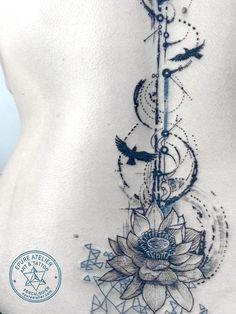Flower Tatto Ideas & Trends 2017 - DISCOVER lotus flower » Épure atelier art et tattoo Discovred by : Jess Carr