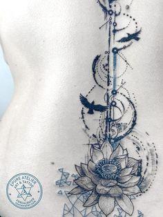 Flower Tatto Ideas  lotus flower