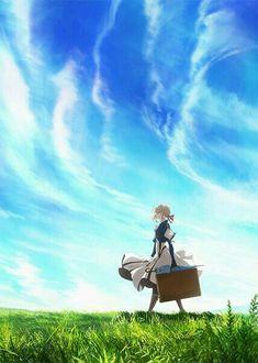 Kyoto Animation's Winter 2018 anime work Violet Evergarden has announced a new project! Anime Shojo, Manga Anime, Film Manga, Anime Art, Akatsuki, Animes Online, Online Anime, Anime Expo, Anime Violet Evergarden