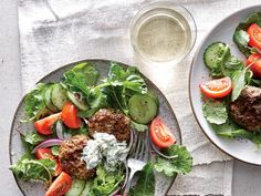 We love the richness that a little ground lamb offers, but you can use all beef or even ground turkey instead.