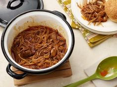 Spicy Pop Pulled Pork could be done in slow cooker .  Serve with potatoes au gratin anbd cole slaw