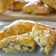 Spinach and Cheese Parcels