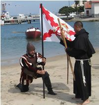 Journey back to September 28, 1542 when Cabrillo, a Portuguese navigator sailing under the flag of Spain, landed at San Diego. Stepping ashore on Ballast Point, he was the first European to land on the west coast of what is now the United States of America.