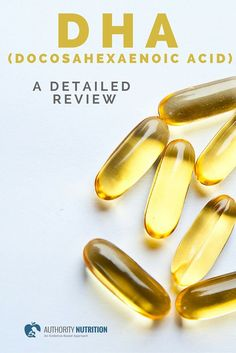 Docosahexaenoic acid (DHA) is an omega-3 fatty acid that is important for health. This is a detailed review of DHA and its health effects: authoritynutritio...