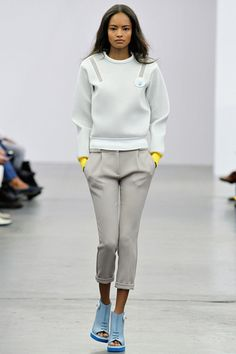 Style.com's Guide to the Spring 2014 Runway Trends ice berg
