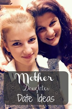 It's hard to find Mother Daughter Date Ideas when you have a teenager these days. These simple date ideas will work great to help strengthen the mother daughter bond, glad I found these tips on spending time with your daughter! Mommy Daughter Dates, Mother Daughter Activities, Activities For Girls, Summer Activities, Family Activities, Teenage Daughters, Mother Daughters, Teen Mom, Parenting Hacks